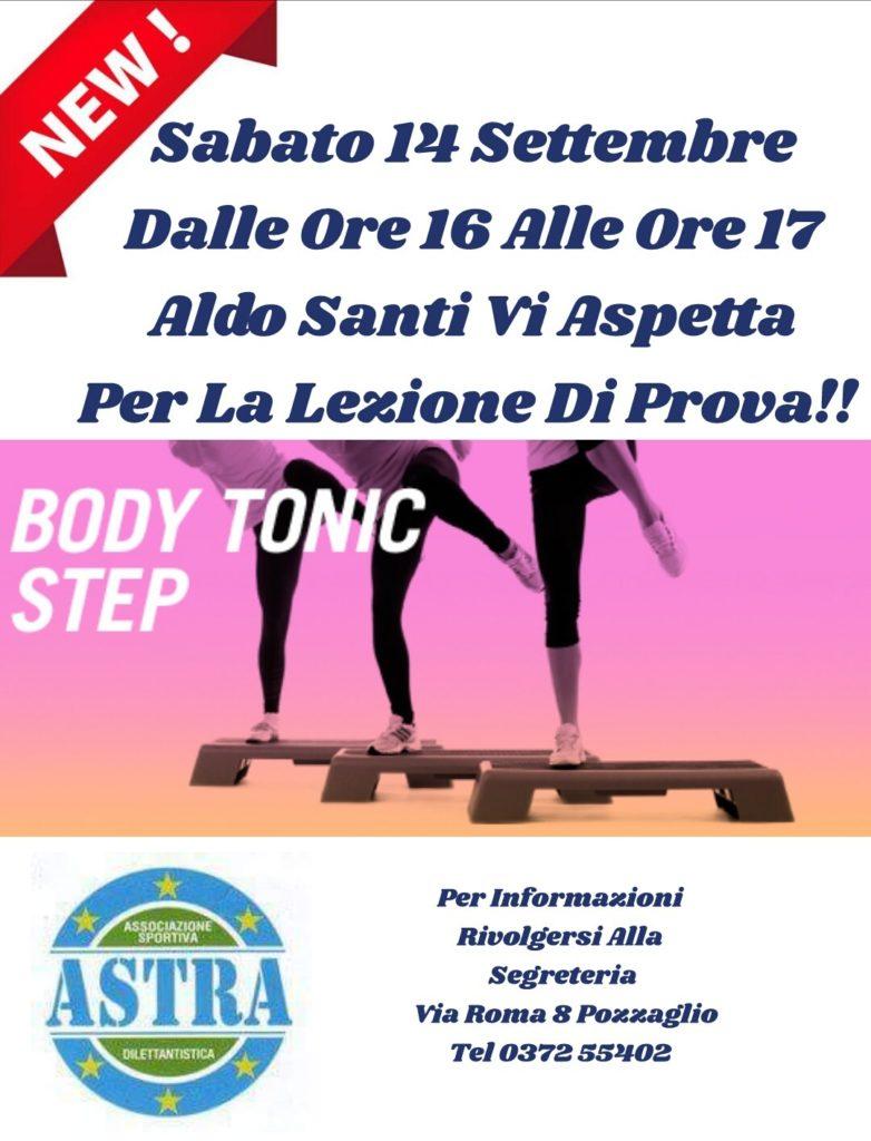 ginnastica body tonic step cremona pozzaglio