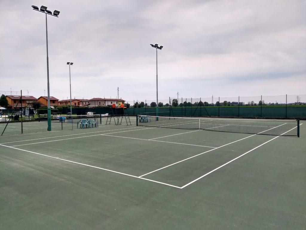 campi tennis astra pozzaglio, aperti anche di sera
