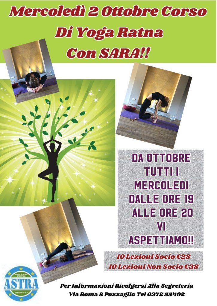 corso yoga pozzaglio CR da ottobre 2019